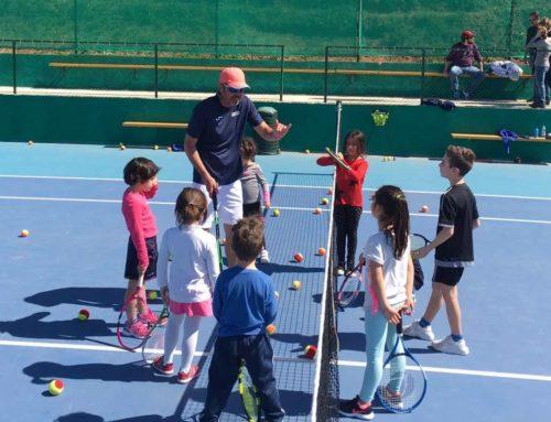 Scuola Tennis al lavoro