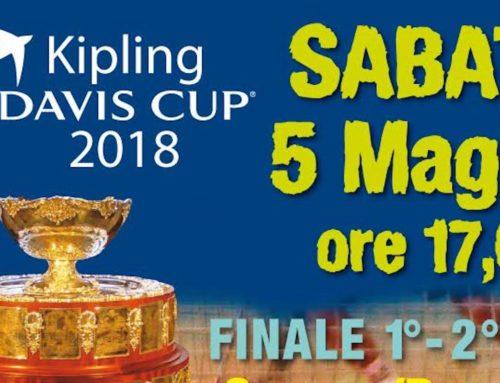 Premiazioni Kipling Davis Cup 2018