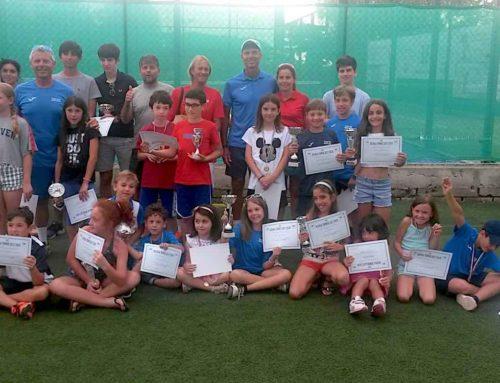 Premiazioni fine corso scuola tennis