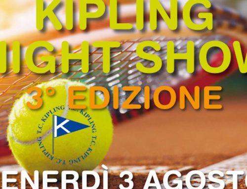 Kipling night show 2018