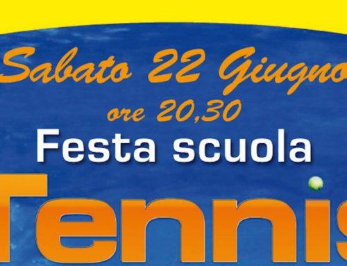 Festa Scuola Tennis 2019
