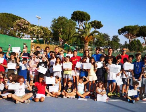 Premiazioni scuola tennis 2019