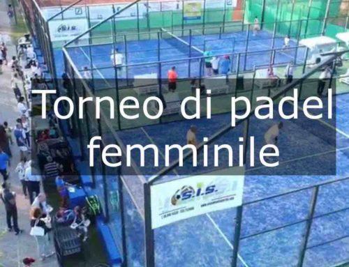 Torneo di Padel femminile NC