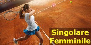 Torneo sociale singolare femminile @ tennis club kipling