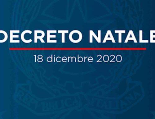 DPCM Natale 2020
